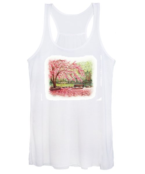 Spring At Lithia Park Women's Tank Top