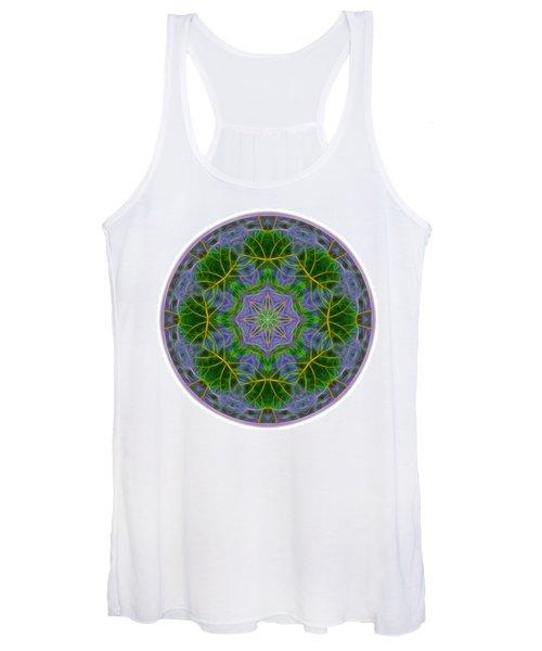 Spring Bloom Colors Mandala Women's Tank Top