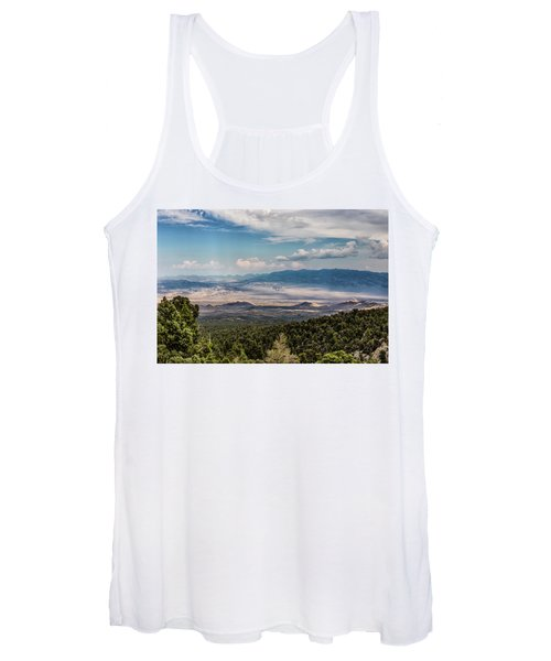 Spring Mountains Desert View Women's Tank Top