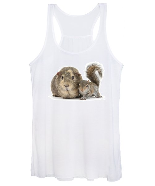 Squirrel And Guinea Women's Tank Top