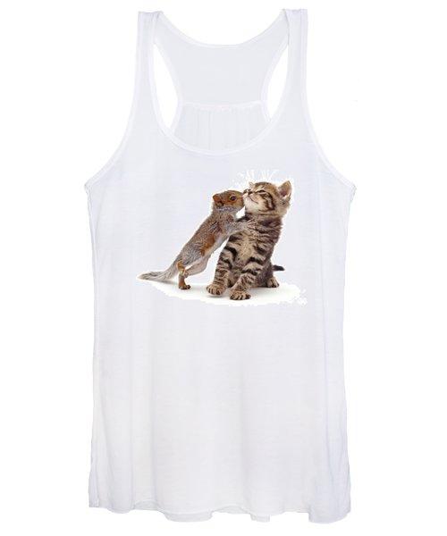 Squirrel Kiss Women's Tank Top