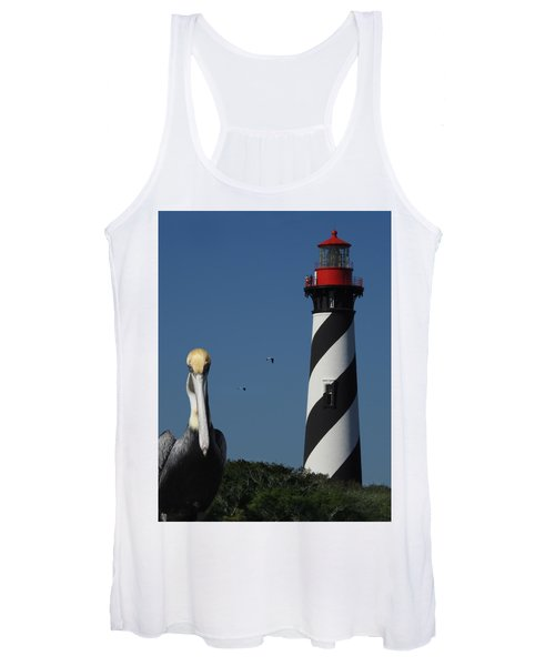 St. Augustine Lighthouse Women's Tank Top