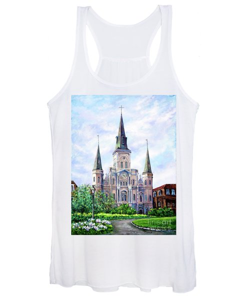 St. Louis Cathedral Women's Tank Top