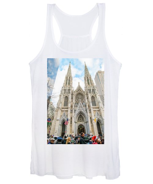 St. Patrick Cathedral In New York Women's Tank Top