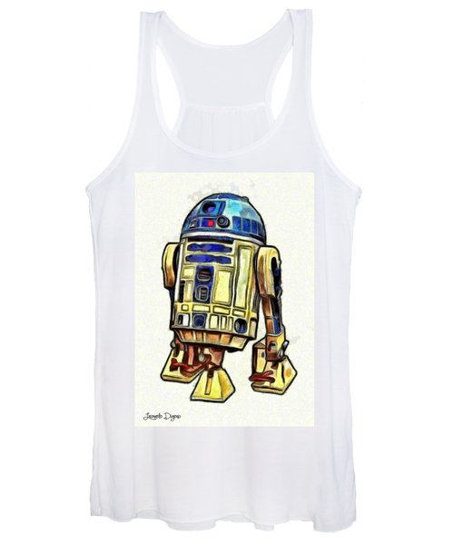 Star Wars R2d2 Droid - Da Women's Tank Top