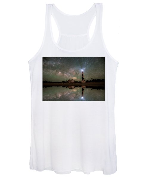 Starry Reflections Women's Tank Top