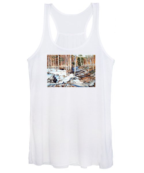 Start Of The Journey Women's Tank Top
