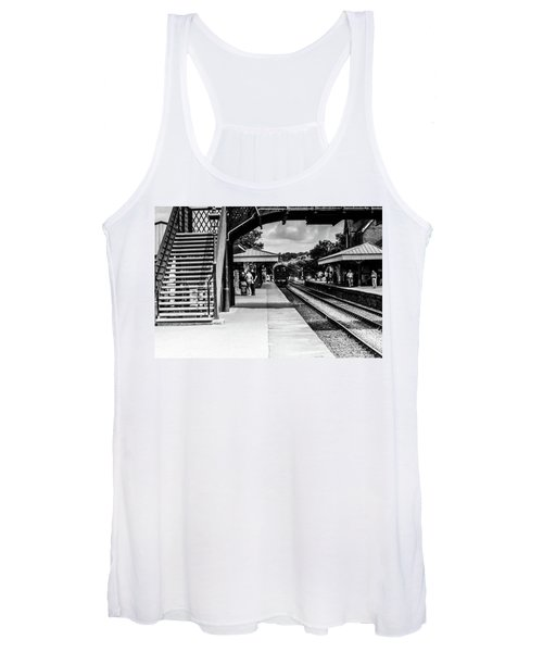 Steam Train In The Station Women's Tank Top