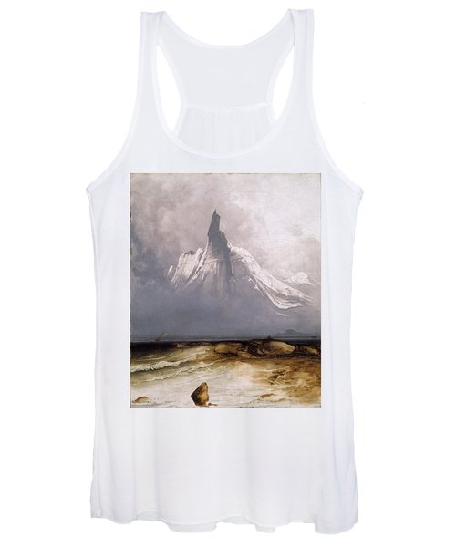 Stetind In Fog Women's Tank Top