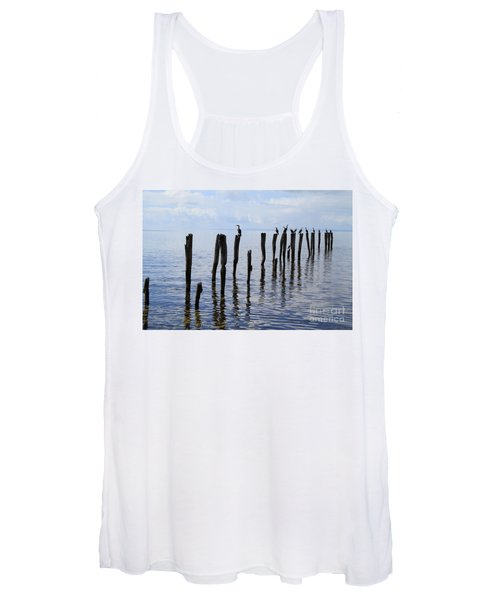 Sticks Out To Sea Women's Tank Top
