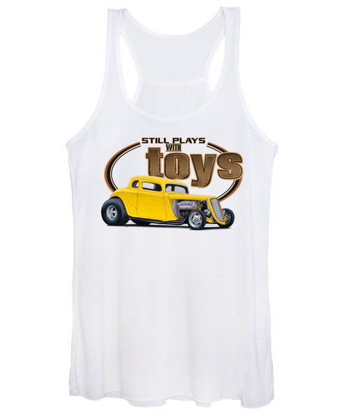 Still Plays With Hot Rod Cars Women's Tank Top