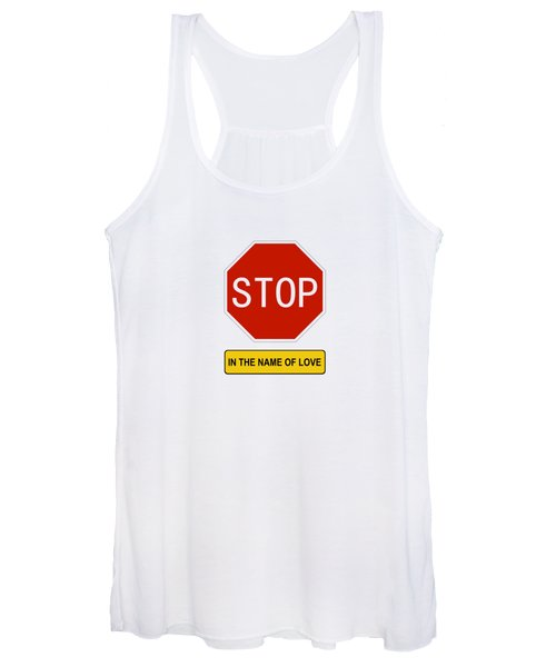 Stop In The Name Of Love Women's Tank Top