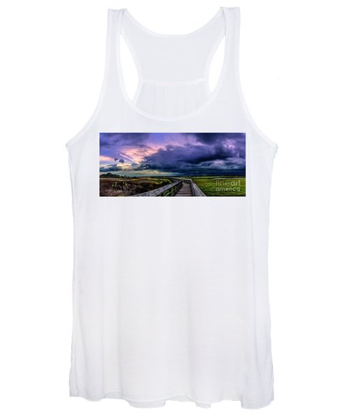 Storm Clouds Women's Tank Top
