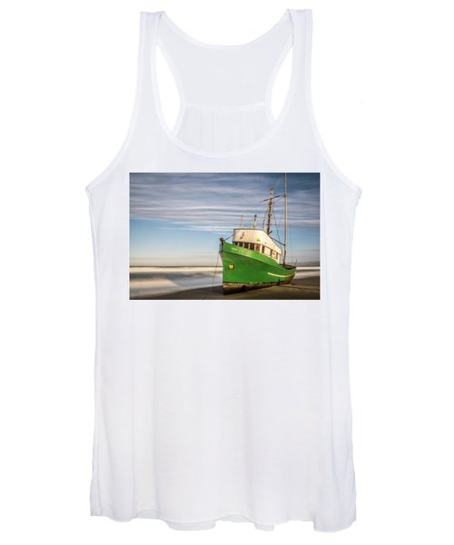 Stranded On The Beach Women's Tank Top