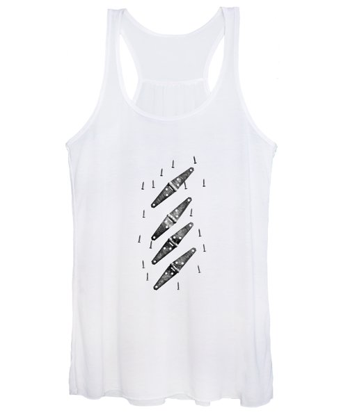 Strap Hinges And Screws Women's Tank Top