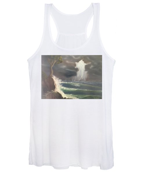 Strong Against The Storm Women's Tank Top