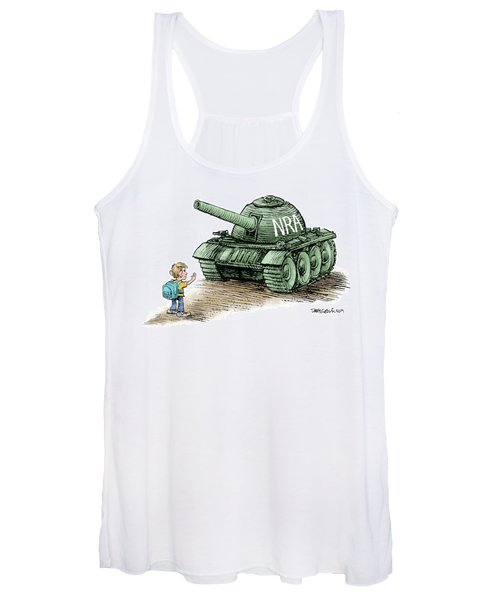Students Vs The Nra Women's Tank Top