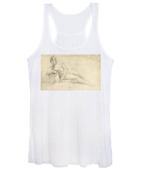 Study Of A Female Nude  Women's Tank Top