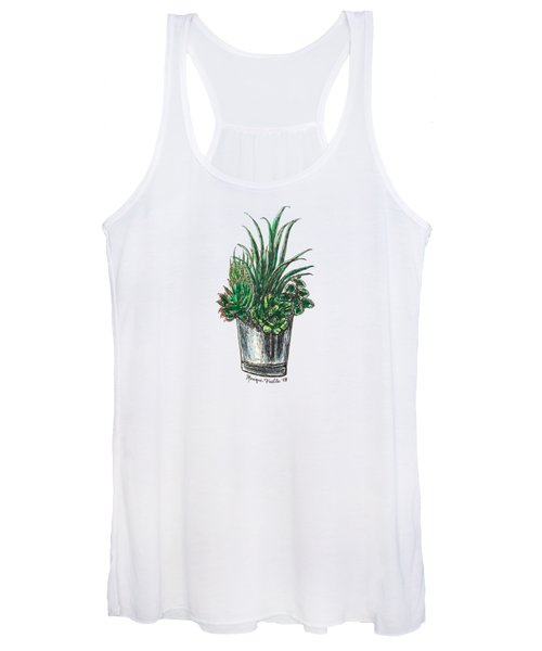 Succulents Women's Tank Top