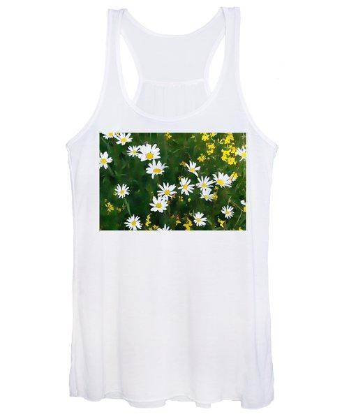 Summer Daisies Women's Tank Top