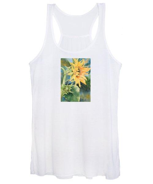 Summer Sunflower Women's Tank Top
