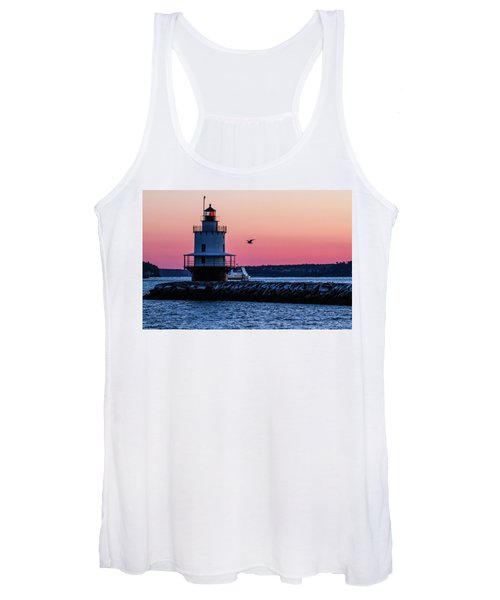 Sun Rise At Spring Point Women's Tank Top