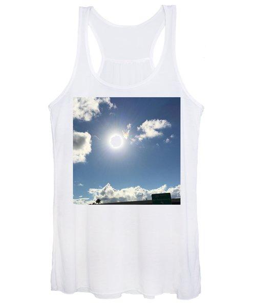 Sun Sky Angel Women's Tank Top