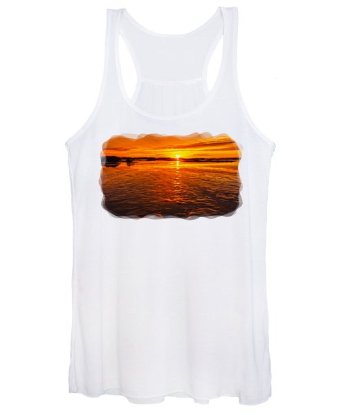 Sundown At Low Tide 2 Women's Tank Top