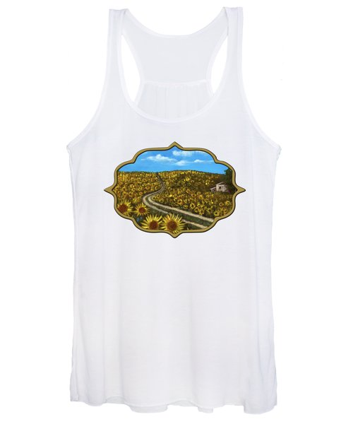 Sunflower Road Women's Tank Top