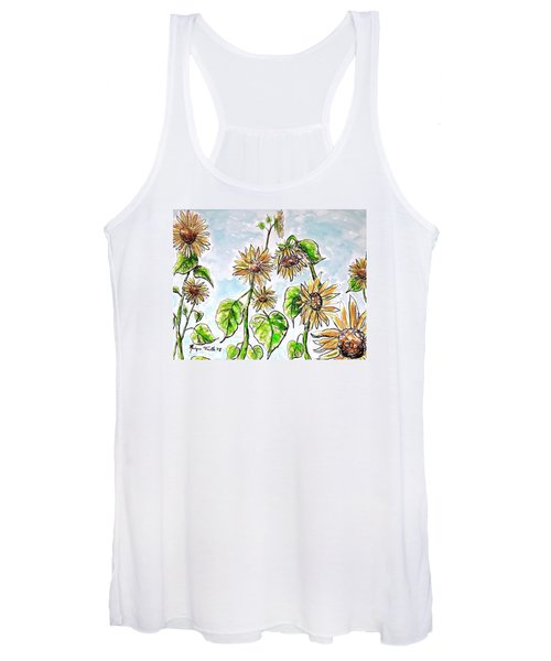 Sunflowers Women's Tank Top