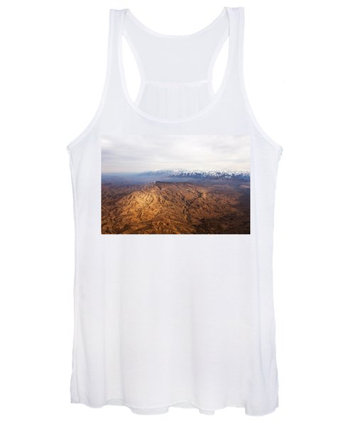 Sunlight And Snow-capped Peaks Women's Tank Top