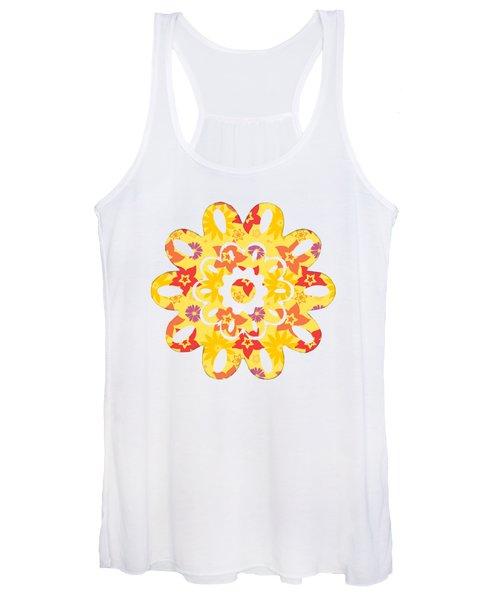 Sunny Flowers Women's Tank Top