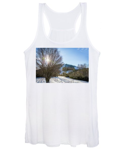Sunrise Over Cataloochee Ski Women's Tank Top