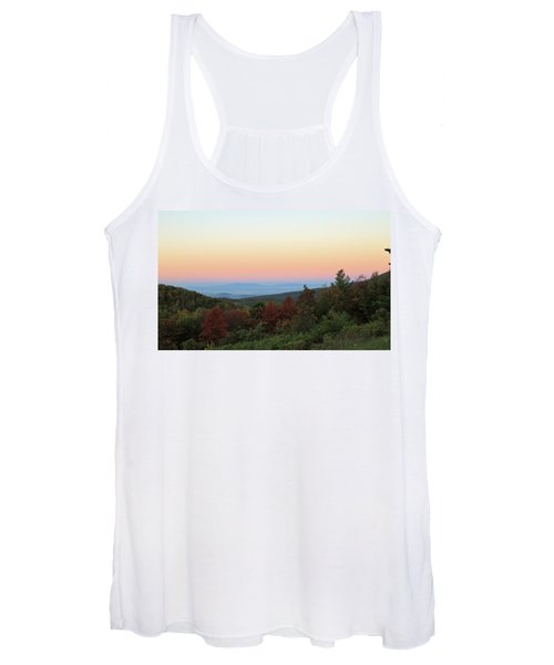 Sunrise Over The Shenandoah Valley Women's Tank Top