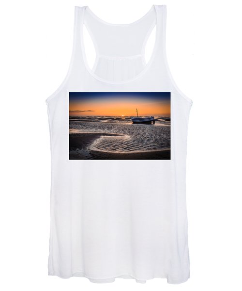 Sunset, Meols Beach Women's Tank Top