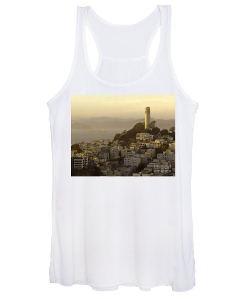 Sunset Over The Water Women's Tank Top
