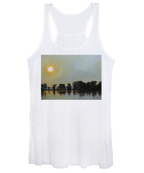 Sunset Ride Women's Tank Top