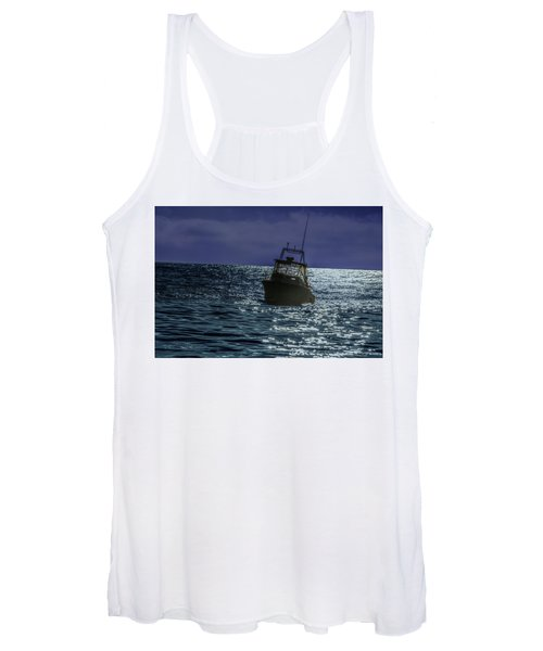 Sunsetting On Fisher Betting Women's Tank Top