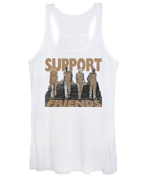 Support Friends Women's Tank Top