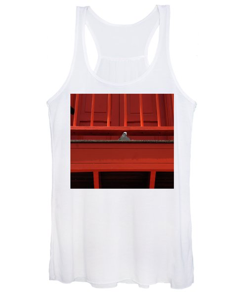Sure Roses Are Red But Other Things Are Red Too Women's Tank Top