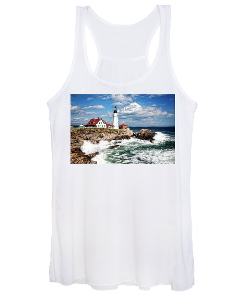 Surf Meets Land Women's Tank Top