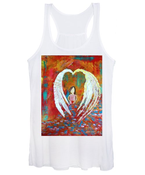 Surrounded By Love Women's Tank Top