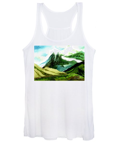 Switzerland Women's Tank Top