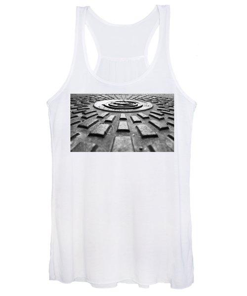 Symmetrical Women's Tank Top