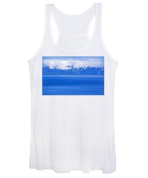 Tahoe Blue Women's Tank Top