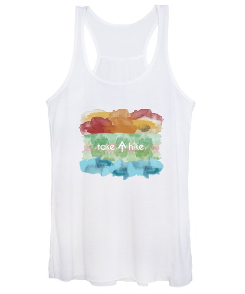 Take A Hike Appalachian Trail Women's Tank Top