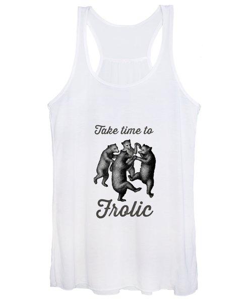 Take Time To Frolic Women's Tank Top