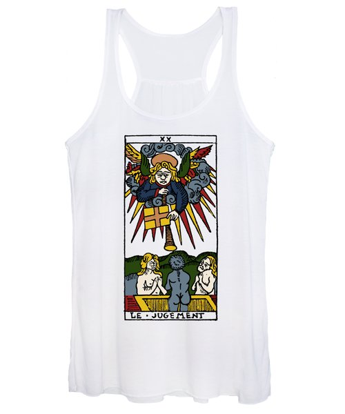 Tarot Card Judgement Women's Tank Top