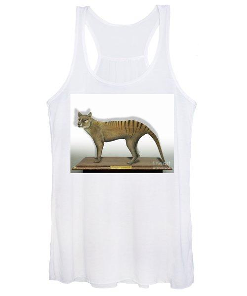 Tasmanian Tiger-thylacinus Cynocephalus-tasmanian Wolf-lobo De Tasmania-tasmanian Loup-beutelwolf    Women's Tank Top