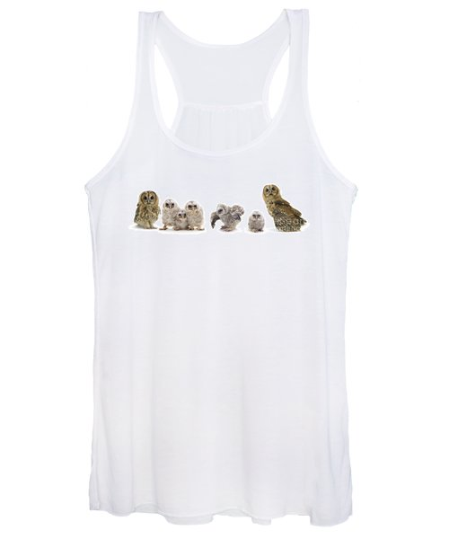Tawny Owl Family Women's Tank Top